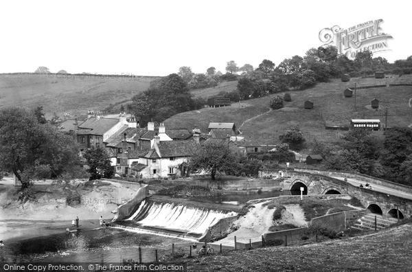 Photo of Levenbridge, The Village c.1955