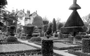 Levens, Hall and Gardens c1950