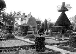 Levens, Hall And Gardens c.1950