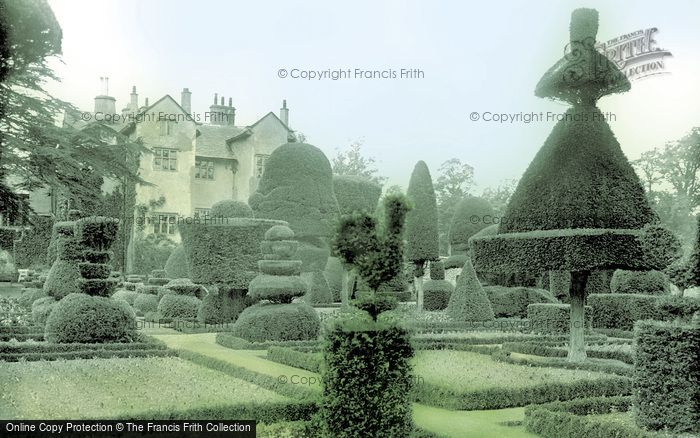 Photo of Levens, Hall And Gardens c.1955