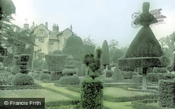 Levens, Hall And Gardens c.1955