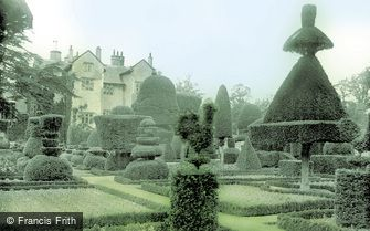 Levens, Hall and Gardens c1955