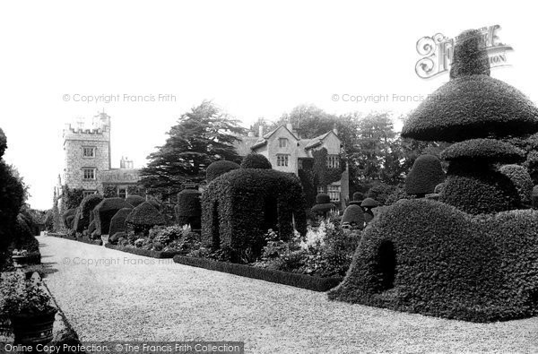 Photo of Levens, Hall From The Gardens 1891
