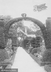 Hall, From The Gardens 1891, Levens