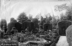 Levens, Hall, The Gardens 1891