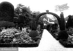 Hall, The Gardens 1891, Levens