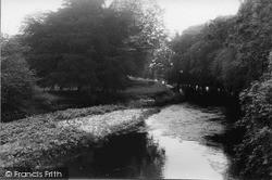 Levens, River Kent c.1955