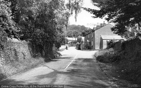 Photo of Levens, The Village c.1955