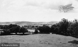 View Of Kent Estuary c.1955, Levens