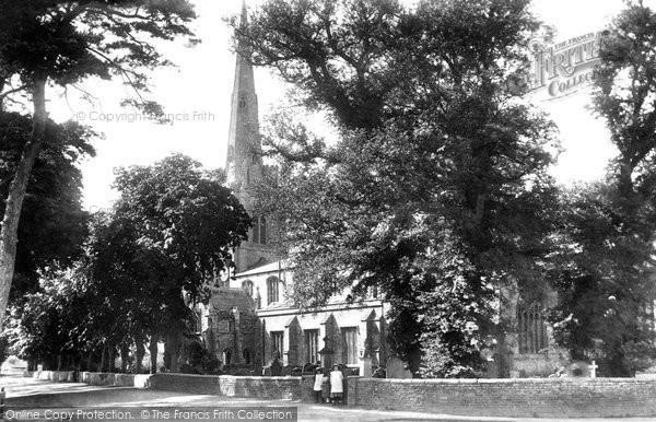 Photo of Leverington, St Leonard's Church 1901