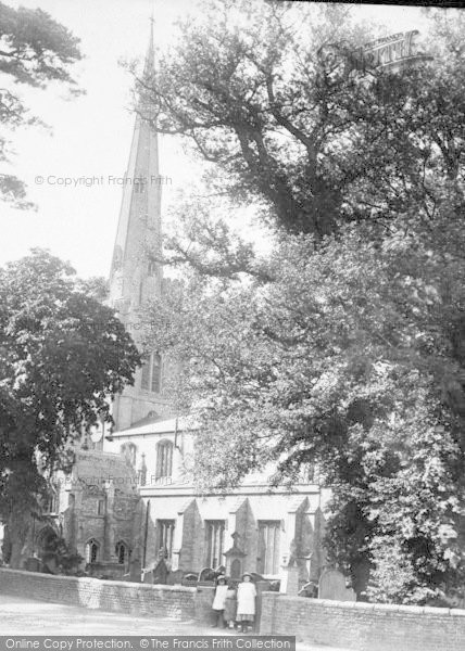 Photo of Leverington, St Leonard's Church 1901