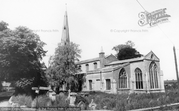 Photo of Leverington, St Leonard's Church c.1960
