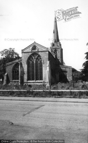 Photo of Leverington, St Leonard's Church c1960