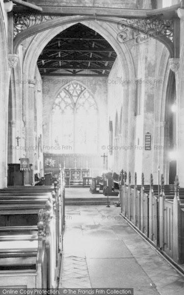 Photo of Leverington, St Leonard's Church, Chancel And Nave c.1965