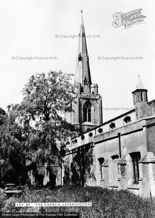 Photo of Leverington, The Church c.1960