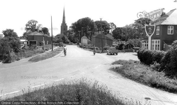 Photo of Leverington, The Village c.1965