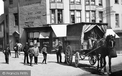 Lewes, A Delivery Cart 1890