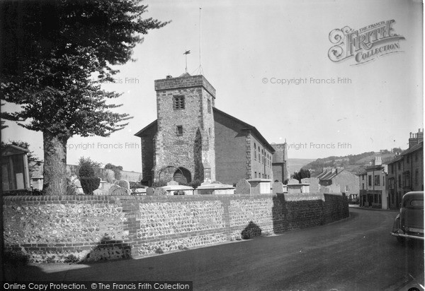 Photo of Lewes, All Saints And Friars Walk c.1950