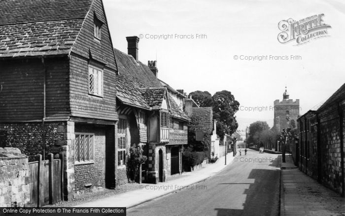Photo of Lewes, Anne Of Cleves House c.1955