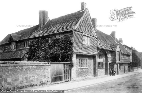 Photo of Lewes, Anne Of Cleves House, Southover High Street 1894
