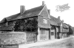 Anne Of Cleves House, Southover High Street 1894, Lewes