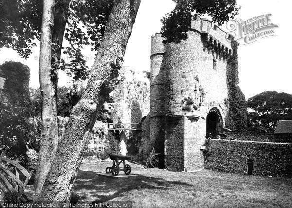 Photo of Lewes, Castle 1890