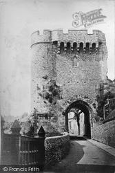 Lewes, Castle c.1880