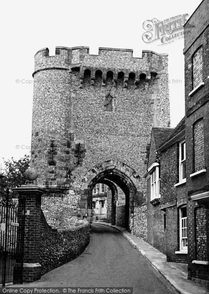 Photo of Lewes, Castle c.1950