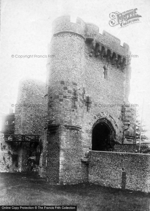 Photo of Lewes, Castle Gate 1894