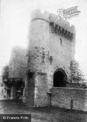 Lewes, Castle Gate 1894