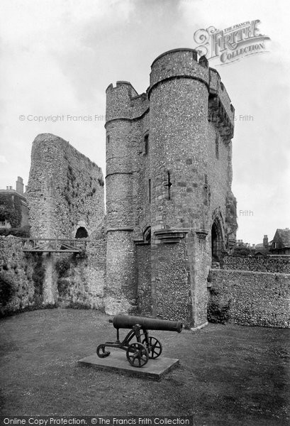 Photo of Lewes, Castle, The Barbican 1921