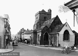 Cliffe High Street c.1950, Lewes