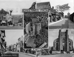Lewes, Composite c.1950