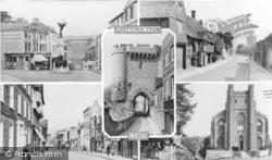 Lewes, Composite c.1955