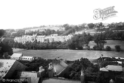 Lewes, From Southover 1890
