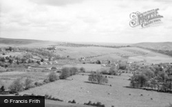 Lewes, General View c.1960
