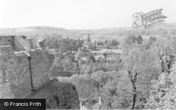 Lewes, General View From The Castle c.1955
