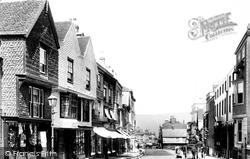 Lewes, High Street 1898