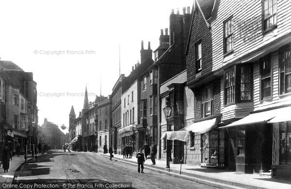 Photo of Lewes, High Street 1903
