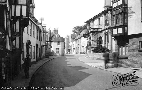 Photo of Lewes, High Street c.1950