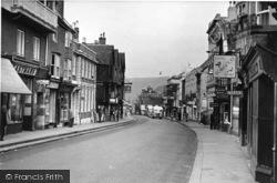 Lewes, High Street c.1950