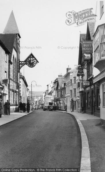 Photo of Lewes, High Street c.1960