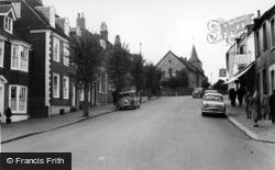 Lewes, High Street c.1960