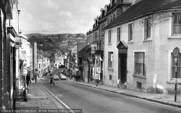 Photo of Lewes, High Street c.1965