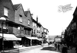 Old Houses 1890, Lewes