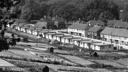 Lewes, Prefabs In Landport c.1950