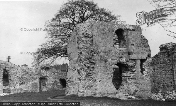 Photo of Lewes, Ruins Of The Priory Of St Pancras c.1955