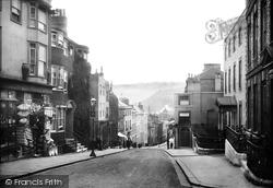 Lewes, School Hill 1894