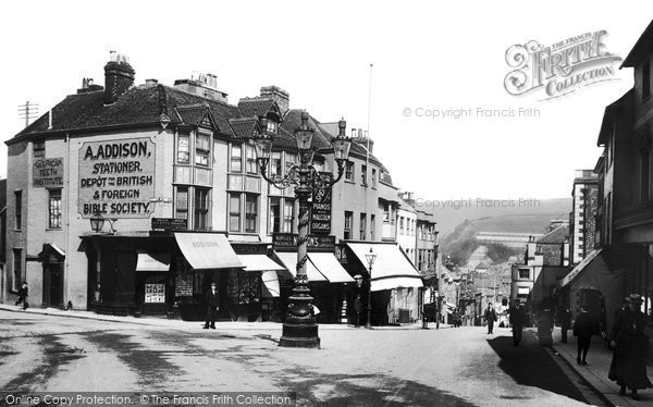 Photo of Lewes, School Hill 1903