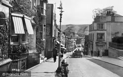 Lewes, School Hill 1921